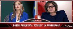 La #satira di #SabinaGuzzanti in #TGPorco. #RWF