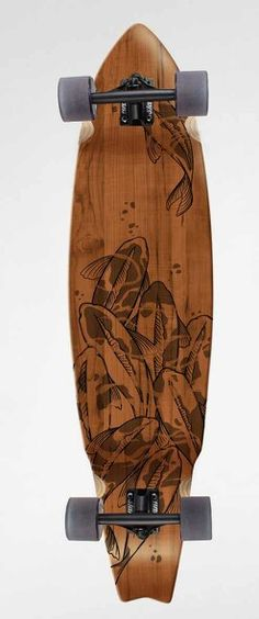 I like the design of this longboard.