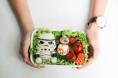 Stormtrooper & Bb8 Bento