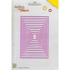 Multi Frame Die - Rectangle / Straight (rosa)