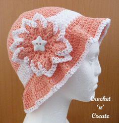 Cotton Floppy Sun Hat Free Crochet Pattern - Crochet 'n' Create