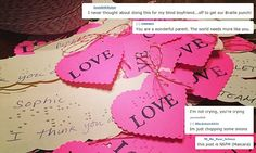Beautiful: 8-Year-Old Blind Girl Makes Valentine's Day Cards With 'Love' Written in Braille
