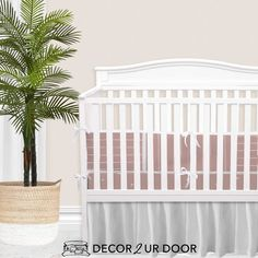 For our modern + minimal momma's out there. This dusty pink modern nursery look is complete with hand drawn stripes + coordinating Swiss cross pattern. We love how this look is modern and simple - leaving all the room for the baby to shine. Available in (9) color ways. Baby Boy Bedding Sets, Custom Baby Bedding, Baby Boy Cribs, Girl Cribs, Baby Nursery Bedding, Nursery Decor, Boho Nursery, Girl Nursery, Thing 1