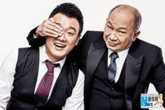 Hong Kong director John Woo and Chinese actor Tong Dawei