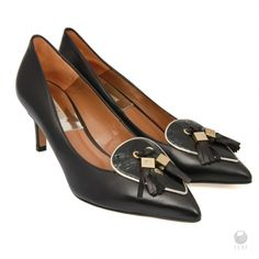 Global Wealth Trade Corporation - FERI Designer Lines Black Shoes, Women's Shoes, Wealth, Latest Trends, Luxury Fashion, Fashion Accessories, Sexy Women, Leather, How To Wear