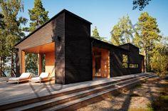 Галерея наших работ — экстерьеры деревянных домов Honkatalot