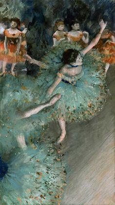 Edgar Degas: Swaying Dancer, 1879
