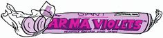 https://flic.kr/p/6gEBy8   Giant Parma Violets   Parma Violets are a violet-flavoured confectionery manufactured by the Derbyshire-based company Swizzels Matlow. The candies are hard, biconcave disc-shaped sweets, similar to the Love Hearts, Fizzers and Refreshers products from the same company, but without their fizziness.