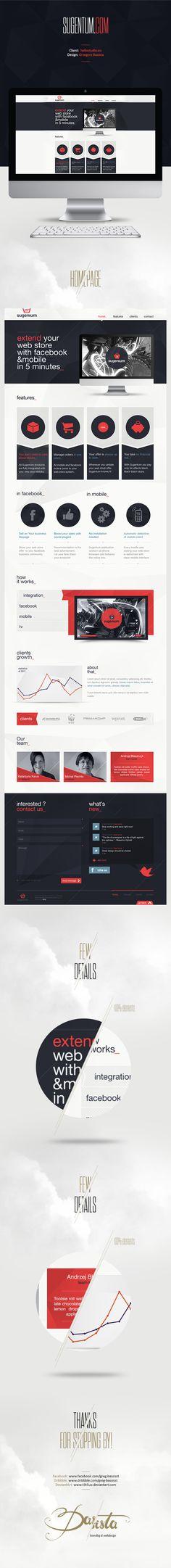 darista | #webdesign #it #web #design #layout #userinterface #website #webdesign < repinned by www.BlickeDeeler.de | Take a look at www.WebsiteDesign-Hamburg.de