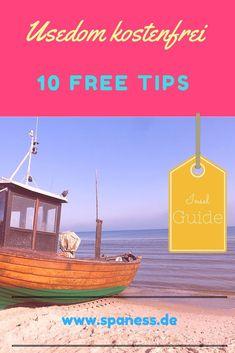 Usedom Urlaub - 10 komplett kostenfreie Ausflugsideen auf der Ostseeinsel.