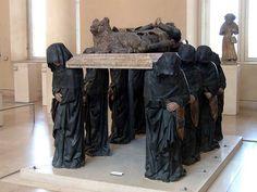 Tomb of Philippe Pot by Antoine Le Moiturier, Musée du Louvre, Paris
