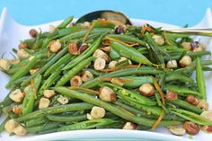 The Café Sucré Farine: Haricot Verts and Sugar Snap Pea Salad