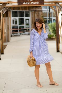 Weekend casual-old navy tassel tie dress my stitch fix style Women's Fashion Dresses, Casual Dresses, Casual Outfits, Fashion Shoes, Skirt Fashion, Fashion Fashion, Office Fashion Women, Fashion Tips For Women, Womens Fashion