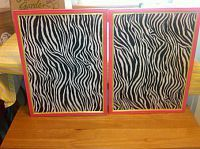 Zebra Bulletin Boards-