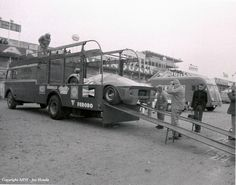 Le Mans 1967, Scuderia Ferrari transporter