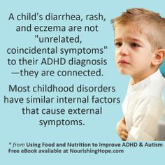 Get our free e-book on Using Food and Nutrition to Improve ADHD and Autism. http://nourishinghope.com/get-started-guide/