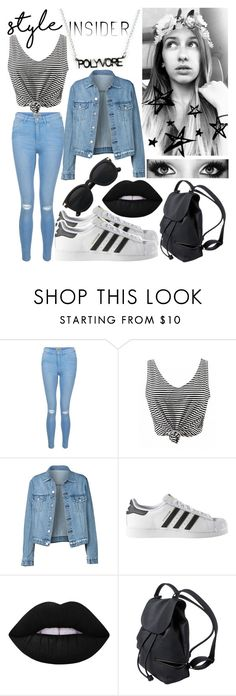 """Style Insider⚫️⚪️ #ContestEntry #PVStyleInsiderContest"" by aussie-wannabe ❤ liked on Polyvore featuring New Look, adidas, Lime Crime, contestentry and styleinsider"