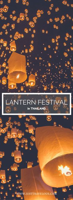 The Yee Peng festival in Northern Thailand is the lantern Festival every backpacker is dreaming about