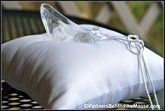 Image detail for -Glass Slipper Ring Bearer Pillow – Cinderella Wedding Decor Cinderella Sweet 16, Cinderella Wedding, Princess Wedding, Cinderella Theme, Princess Party, Wedding Bells, Our Wedding, Dream Wedding, Wedding Decor