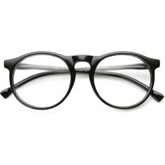 442b21c718 Indie Retro Round Clear Lens Fashion Glasses 8710 ( 6.95) ❤ liked on Polyvore  featuring