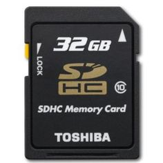 Cheap Toshiba 32Gb Class 10 Secure Digital High Capacity Card (THNSH032GTRT) Buy online and save - http://topprintersink.com/cheap-toshiba-32gb-class-10-secure-digital-high-capacity-card-thnsh032gtrt-buy-online-and-save