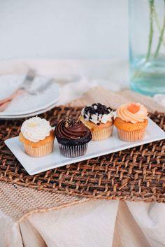 Gourmet Cupcakes, Mini Cupcakes, Food And Drink, Desserts, Deserts, Dessert, Postres, Food Deserts
