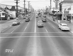 76th and Aurora, 1953 by Seattle Municipal Archives, via Flickr