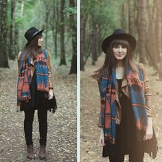 Get this look: http://lb.nu/look/5408506  More looks by Maddy C: http://lb.nu/maddy  Items in this look:  Six Scarf, Bag