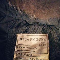 Doudoune VALMI Sud express par @lisetredan