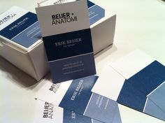 My businesscards, designed by Tobias Svensén at Refined Design. Printed by Bok & Tryck in Bollnäs, Sweden.