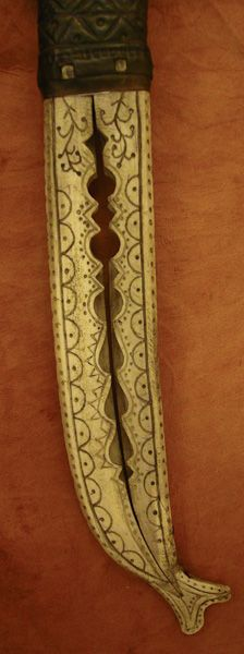 Saami sheath detail