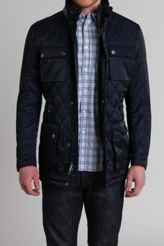 Hawke Laurent Black Collection Diamond Quilted Jacket
