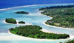 7 Day Two Island Getaway: Rarotonga & Aitutaki incl. flight, resorts, bkfst & more. IslandsInTheSun.com #cookislands #rarotonga