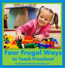 Four Frugal Ways to Teach Preschool