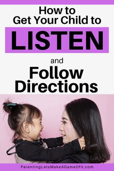 Want to get your child to listen and follow directions without any power struggles? Imagine it. No more morning madness trying to get out of the house. Goodbye to nighttime standoffs going to bed later and later. I know, it sounds too good, but there's a trick. Learn this simple 3-step process to make parenting easier, more rewarding, and fun. #parentingtips #parentingadvice #parenting #kidsandparenting #postiveparenting #momlife Parenting Toddlers, Kids And Parenting, Parenting Hacks, Parenting Done Right, Following Directions, Attachment Parenting, Helping Children, Mom Advice, Kids Health