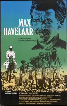 Filmposter Max Havelaar - Netherlands