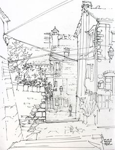 Architecture Drawings by Artur Stepniak