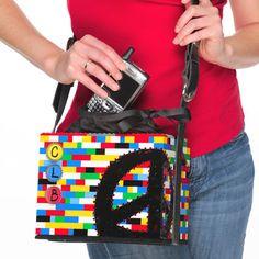 Un bello bolso de Lego para las damas!