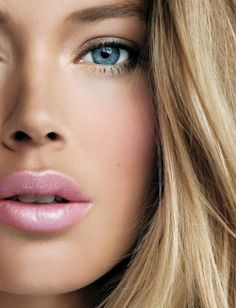 doutzen kroes - NOT those lips a little too pink but eyes are gorgeous