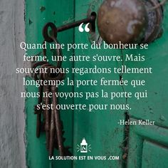Une porte ouverte  #Citation #Humour #HistoireDrole #rire #ImageDrole…