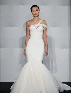 One Strap Mermaid Wedding Dresses
