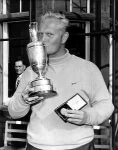 Jack Nicklaus after winning the British Open, June 9, 1966