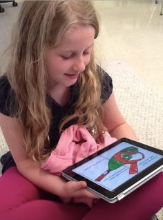 """Using Book Creator to collaborate on a class ebook: """"A week in 2nd grade"""" - Book Creator for iPad 