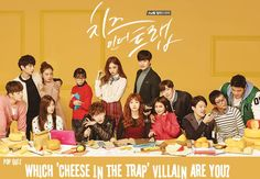 Pop Quiz: Which 'Cheese in the Trap' villain are you? | http://www.allkpop.com/article/2016/03/pop-quiz-which-cheese-in-the-trap-villain-are-you