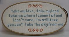 Ballad of Serenity (Firefly) - NEEDLEWORK