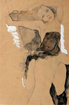 Due donne, Egon Schiele, 1911