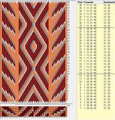 40 tarjetas hexagonales, 4 colores, secuencias 8F-8B // sed_271 diseñado en GTT༺❁