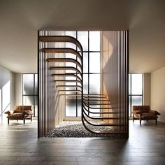 Home Stairs Design, Home Room Design, Dream Home Design, Modern House Design, Home Interior Design, Stair Design, Staircase Interior Design, Staircase Design Modern, House Rooms