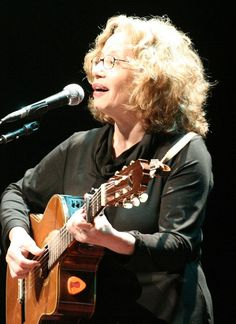 Chava Alberstein  (Hebrew: חוה אלברשטיין‎, born December 8, 1947, in Szczecin, Poland) is an Israeli singer, lyricist, composer, and musical arranger. Alberstein has released more than 60 albums. She has recorded in Hebrew, English and Yiddish. In 1980, Alberstein began to write and compose. Most of the songs on her album Mehagrim (Immigrants) are her own work.