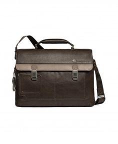 Cartella porta computer a due chiusure con doppia tasca porta iPad/iPad®Air e porta PC Vibe. Sconto del 25% #fashion  #borsa